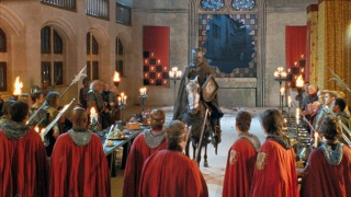 Merlin Club: Excalibur or The One Where Uther Momentarily