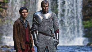 MC - Arthur and Merlin waterfall