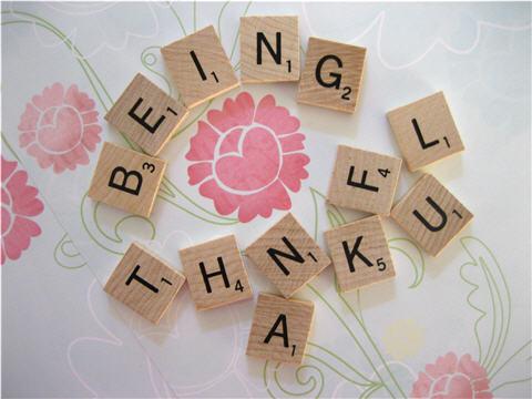 Thankful Scrabble