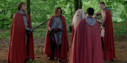 MC - Dragoon and the knights