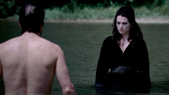 MC - Lancelot and Morgana in the water