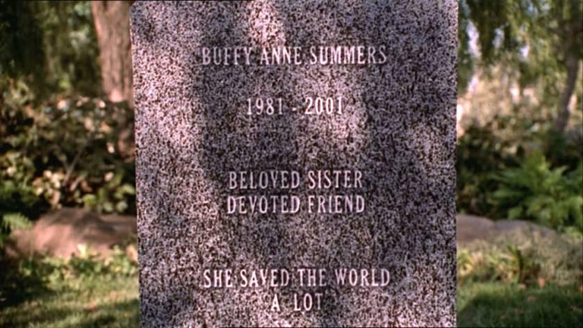 SH - Buffy grave