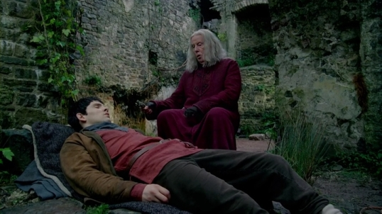 Merlin and Gaius healing