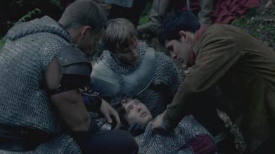 Mordred wounded