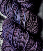 Dark plum yarn