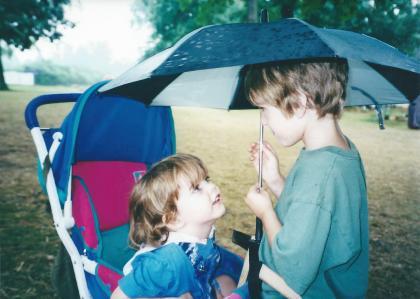 Corwin and Killian Umbrella