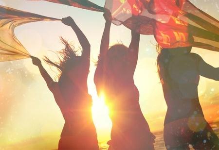 42086649 - beach, party, summer.